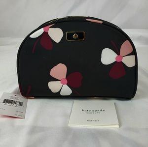 Kate Spade Cosmetic Bag Dawn Dusk Buds NWT